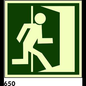 SLATZ AL 16X16 R-650 - SALIDA DE EMERGENCIA DERECH