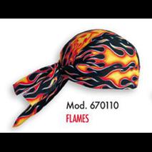 BANDANA MD. FLAMES 670110 - UNIDAD - T-U