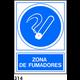 PEGATINA 10X10 S/TEXTO R-314 - .ZONA DE FUMADORES.