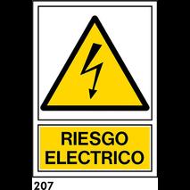 PEGATINA A4 - RIESGO ELECTRICO