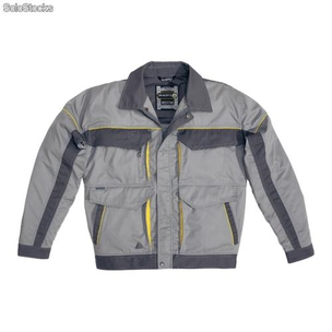 CHAQUETA MACH CORPORATE GRIS CLARO/GRIS OSCURO T-L