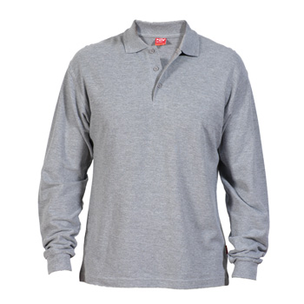 POLO M/L CARPE GRIS  C/BOLSILLO T-XL